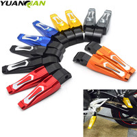 motorcycle rear foot pegs CNC footrest footpedals motorbike footrest pegs For YAMAHA MT 07 MT07 MT 07 2014 2015 2016