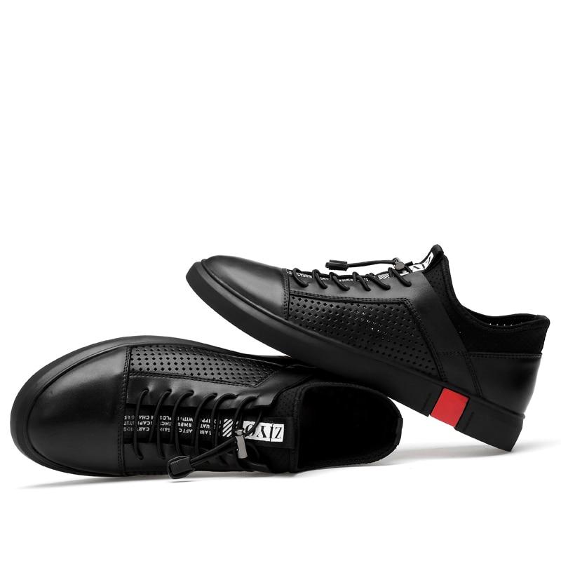 Տղամարդկանց պատահական կաշվե կոշիկներ - Տղամարդկանց կոշիկներ - Լուսանկար 3