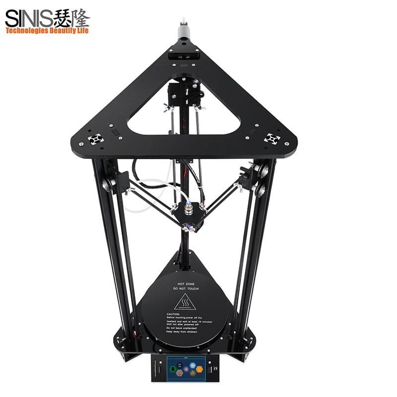 3D принтер синийс T1plus/T1 3d принтер машина с лазерный гравер Smart выравнивания, reprap i3 3d печать комплект 1 кг нити
