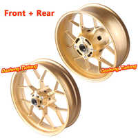 Aluminum Alloy Rear Back Wheel Rim For Honda CBR1000RR 2012 2013 2014 Gold High Quality