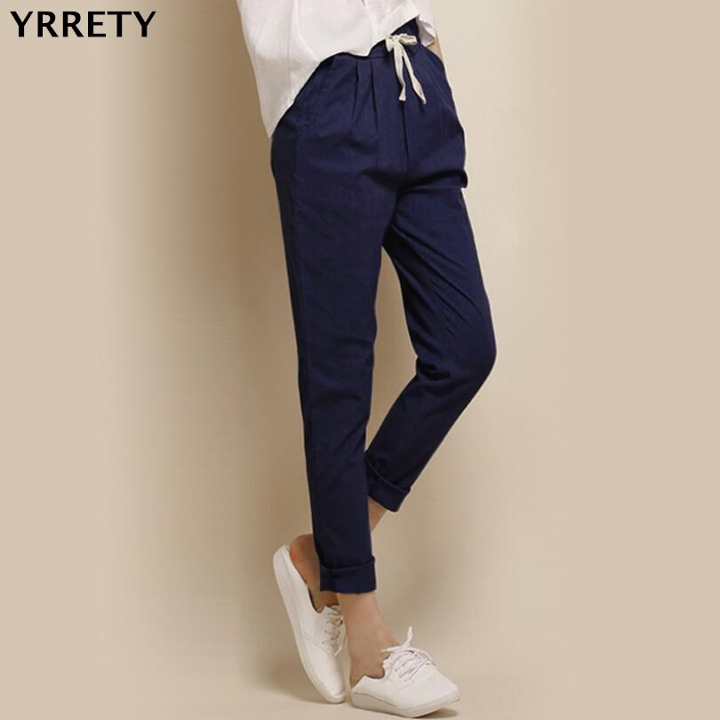 YRRETY Women Spring Sweatpants Women Casual Harem   Pants   Loose Work Trousers Female Trousers Ladies   Pants     Capri   Plus Size S-XXL