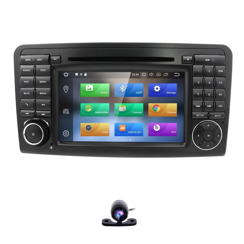 72 din Android 8.0 GPS Car Radio CAR Multimedia DVD player For Mercedes Benz ML GL CLASS W164 ML350 ML500 X164 GL320 Audio Wifi isudar 1 din car multimedia player gps android 7 1 dvd automotivo for mercedes benz w164 ml300 ml350 ml500 gl320 gl350 radio fm