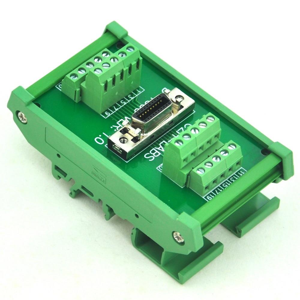 DIN Rail Mount 20-pin 0.05