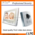 """DHL free shipping good looking 7"""" TFT LCD video door phone video door bell with night version camera"""