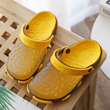 kids Mules& Clogs summer boys girls sandals flat heel solid color breathable slippers children garden shoes