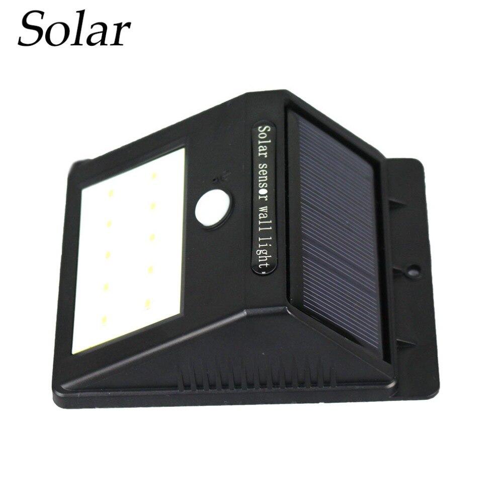 10 led pir motion sensor solar light dusk to dawn security lighting for outdoors ideal for - Solar Yard Lights
