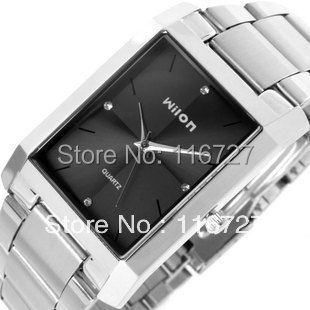 100 Original Good Quality Genuine Wilon Fashion Quartz Business Men S Watches Diamond Square Dial Casual Female Wristwatches In Women S Watches From