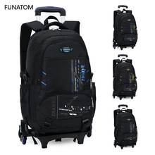 Kids Travel Rolling luggage Bag School Trolley Backpack girls backpack On wheels Girls wheeled Backpacks Child