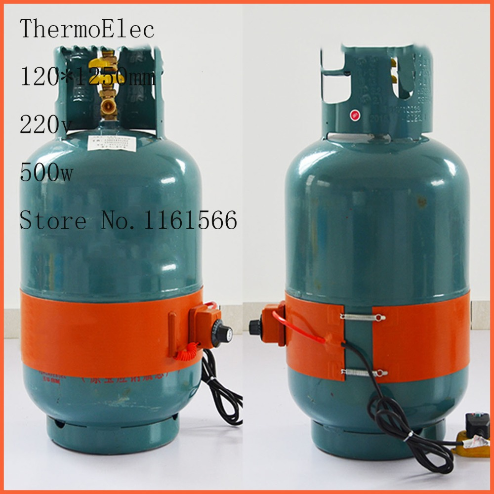 50kg 120 1250mm 220v 500w Silicone Heater Silicon Rubber Electric Heating Oil Cylinder Cylinder With Tropical