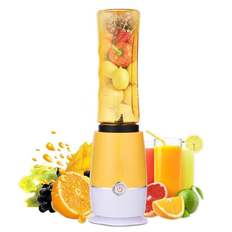 1Pc Creative Electric Juice Juicer  Blender Kitchen mixer Drink Bottle Smoothie Maker Fruit Juice Maker EU Plug VBZ47 T15 0.5