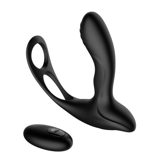 CPWD sexo Anal juguetes para hombres Gay Prostata enchufe trasero Prostata Gay masajeador vibrante para los hombres de Control remoto inalámbrico juguetes sexuales para adultos por par 4d706d
