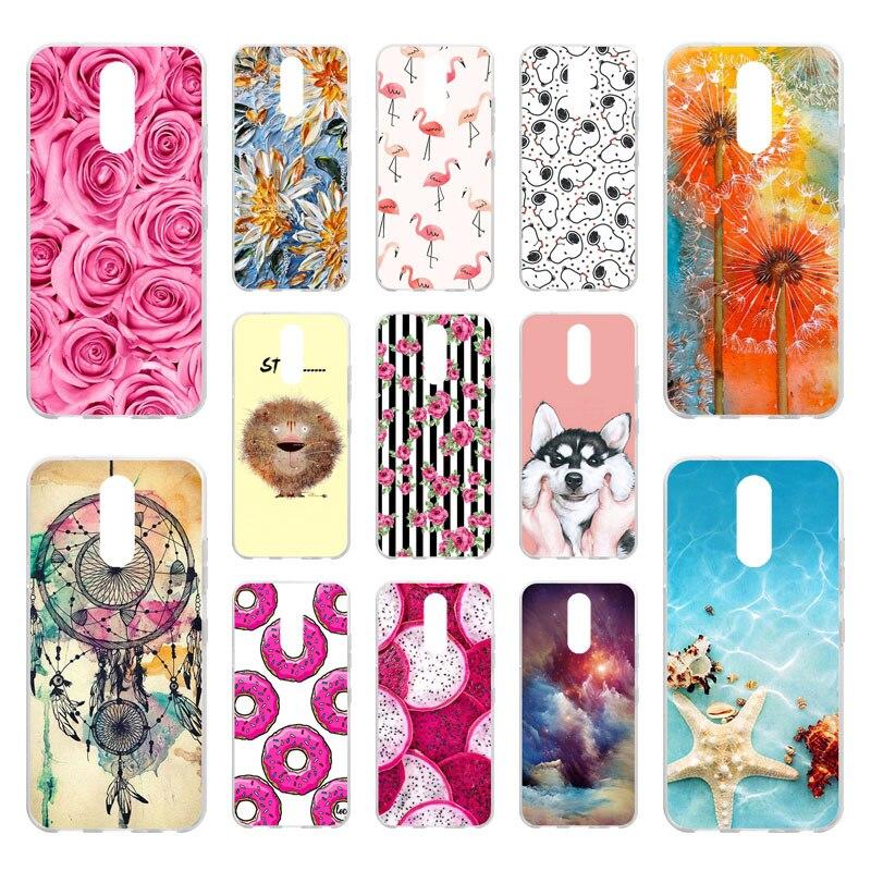 Phone-Case Nutella-Fundas Plus-Covers Silicone Bumper Flamingo Lg K12 Coque for The Capa