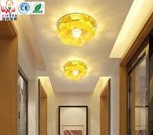 LED прохода света вода застекленные светильники ТВ Настенные светильники может быть встроен в вход коридор светлый цвет гостиная потолок