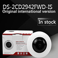 English version DS-2CD2942F-IS 4MP Compact Fisheye Network ip security Camera   Support 128G on-board storage