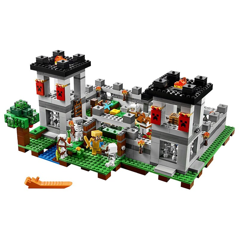 523pcs 4 IN 1 Minecrafted Classic Tree House My world Model Figures Building Blocks Bricks LEGOINGs Toys For Children Gifts set smartable building blocks of my world minecrafted lepin 4in1 steve with weapon figures brick model toys for children gift lr 823
