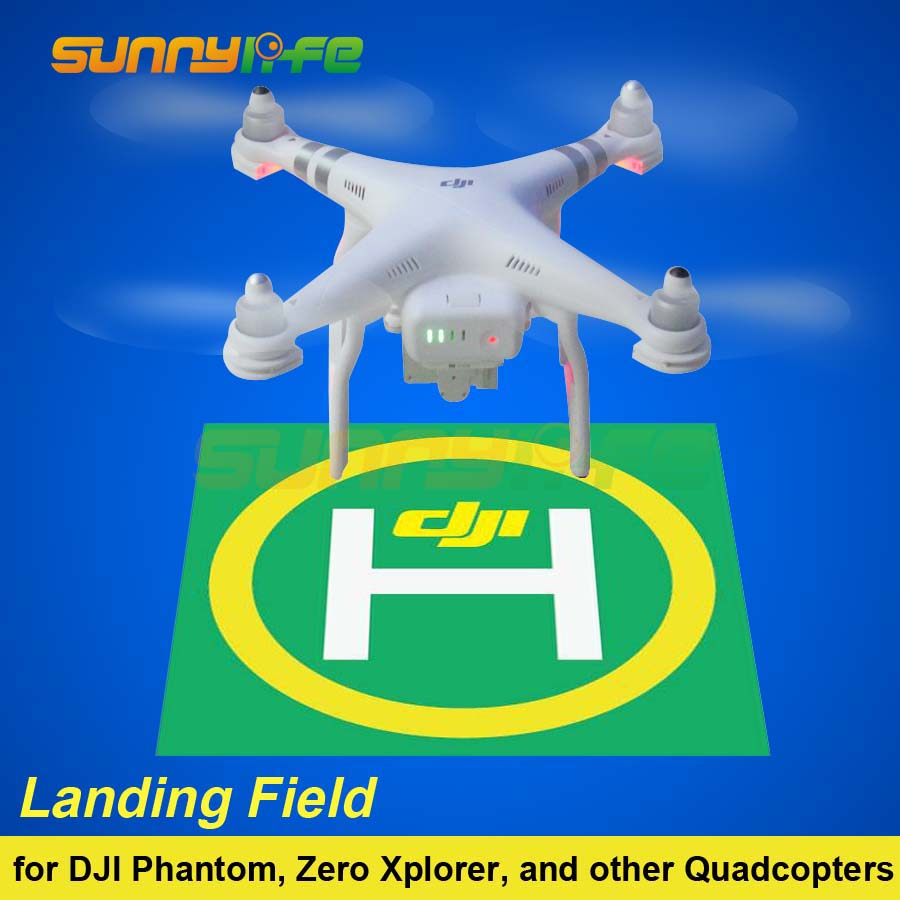 Landing Field Model Airfield Parking Apron Drone Launch Pad Air Base Sticker Decal Tag Signboard for DJI Phantom 3/2 Quadcopter