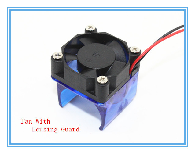 3D Printer Parts DIY Reprap 3D V6 Injection Moulded Fan Duct Fan Housing Guard With Cooling Fan
