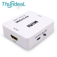 HD Video Converter Box HDMI To RCA AV CVSB L R Video 720P 1080P HDMI2AV AV2HDMI