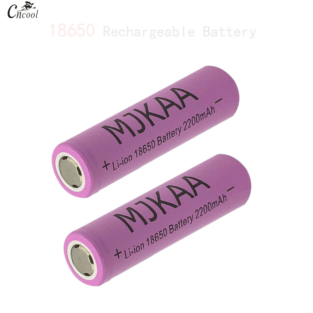 12pcs/lot 18650 Rechargeable Batteries(Not AA battery) 3.7v 2200mAh Lithium Li-ion Battery for Power Bank 18650 3.7v 18650 batte