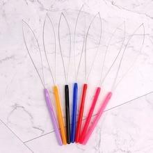 1 шт., инструмент для наращивания волос, микро-кольцо, шарик, вытягивающий обруч, петля, перо, Нитевдеватель, аксессуар для укладки волос, крючок, игла