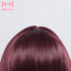 Image 3 - 【AniHut】Scathach Wig Fate Grand Order Cosplay Wig Synthetic Heat Resistant Hair Women Anime Fate Grand Order Cosplay Hair