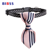 5PC Cute Cat Collars With Tie And Bells Adjustable Designer Pet Collar For Cats For Chihuahua