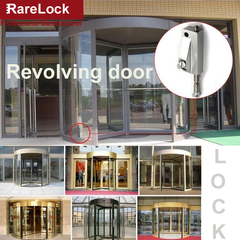 Rarelock MS448 Latch Sliding Revolving Door Lock Deadbolt for Bedroom Hotel Office Home Security Public Room Hardware a electronic rfid card door lock with key electric lock for home hotel apartment office latch with deadbolt lk520sg