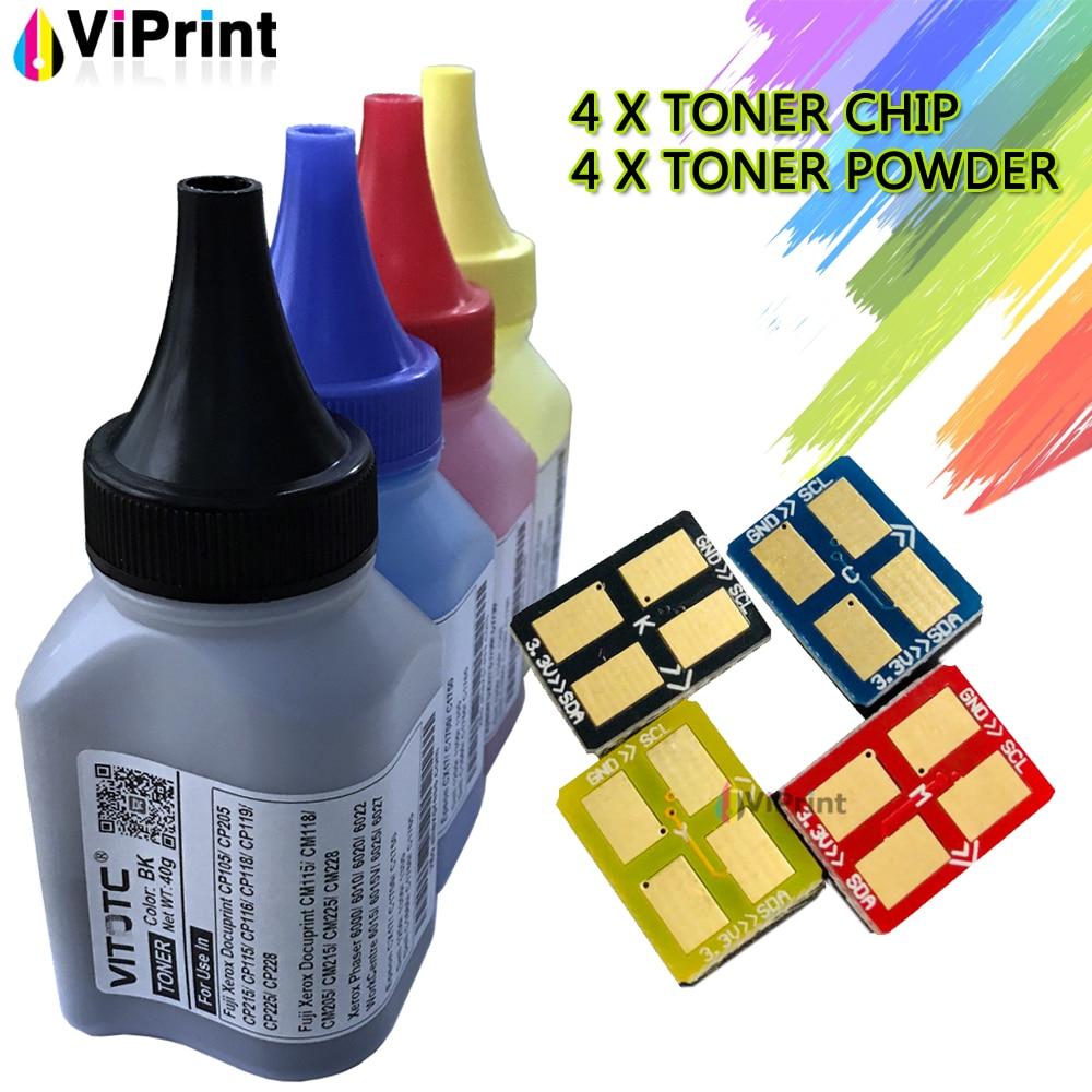 4 CLP300 Toner Refill Powder Cartridge + 4 Chips Kit For Samsung CLP-300 CLP 300N CLX-2160 2160N CLX-2161 CLX-3160 3160N 3160FN