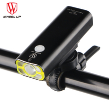 2500 mAH Front Handlebar MTB Road Bike LED Cycling Light Touch Head-light Flash-light Bicycle Light USB Re-chargeable 2017
