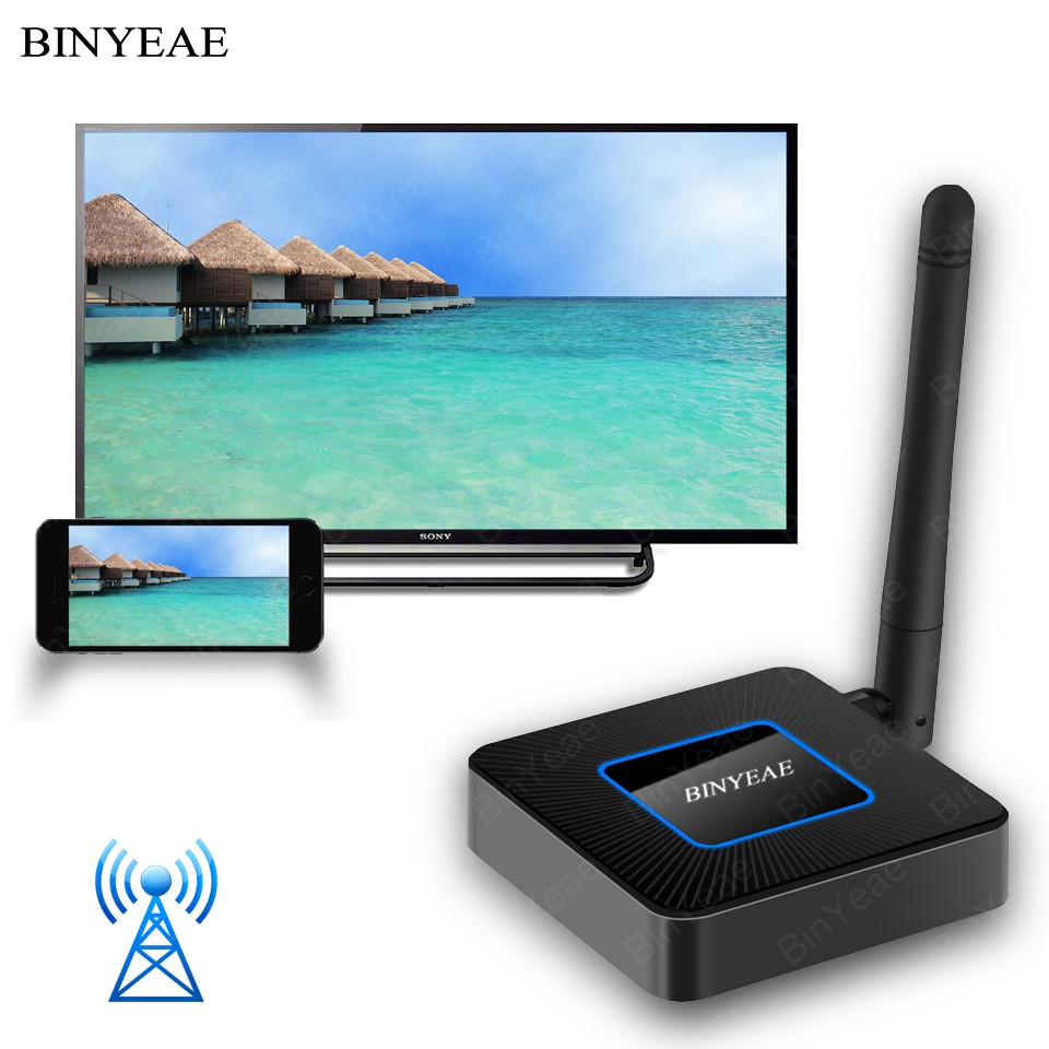 Wireless HDMI Adapter Wifi Display Dongle Receiver HDTV For Iphone Ipad Samsung Micro USB Type C