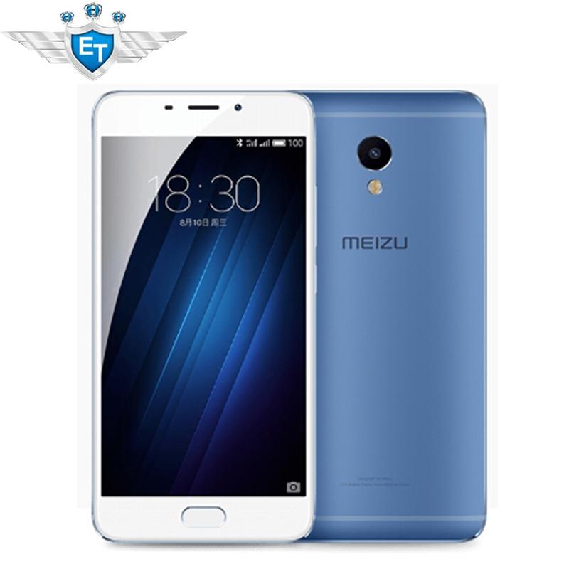 Original Meizu M3E MEILAN M1 E 5.5 inch 2.5D FHD 1080P MTK Helio P10 Octa Core 3GB RAM Cell Phone 13.0MP Camera Fingerprint