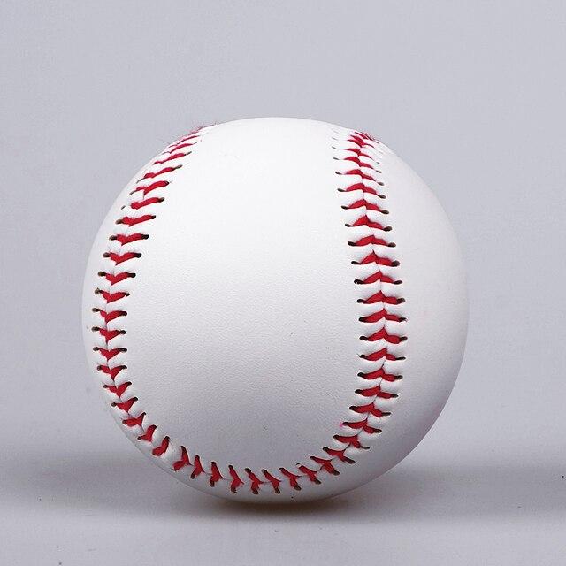 """High quality 9"""" Handmade Baseballs PVC Upper Rubber Inner Soft Baseball Balls Softball Ball Training Exercise Baseball Balls 1"""