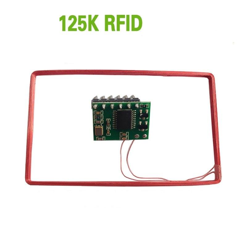 מודול קורא כרטיסי Rfid 125 khz מזהה כרטיס סידורי Wiegand כרטיס קורא נמוך תדר אולטרה קטן גודל YL0301
