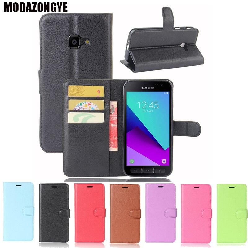 Флип-чехол для Samsung Galaxy Xcover 4, PU кожаный чехол для телефона Samsung Xcover 4, Galaxy X Cover4, G390F, G390 SM-G390F