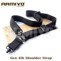 Armiyo gen alça de ombro bunge mosquetão rápida separar arma de caça acessórios tiro multi mission sling