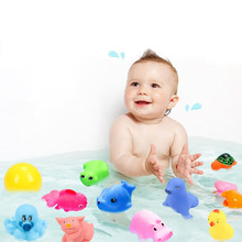 20PCS/set Baby toy bath baby boy girl pinch called duckling children play toys for gifts (random style)