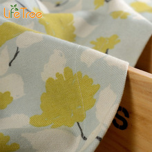 Leaves Printed Pastoral Curtains For Kids Bedroom Living Room Window Drapes Kitchen Blackout Balcony Curtain Custom Made