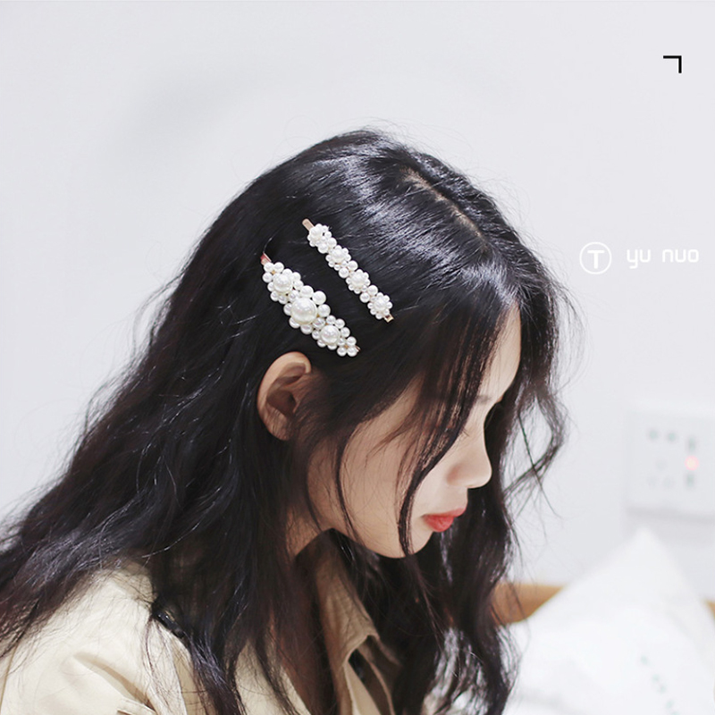 Jewelry Sets & More Beautiful Dvacaman Pearl Bride Hair Clip For Wedding Korean Trendy Bobby Pins Hair Accessories Jewelry Wholesale Women Girls Barrettes Ins Hair Jewelry