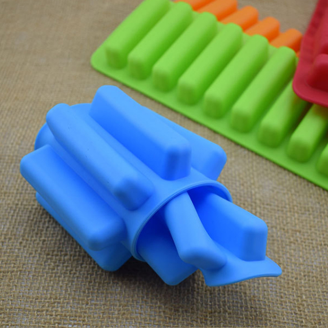 Silicone Mold for Elongated Ice Bricks