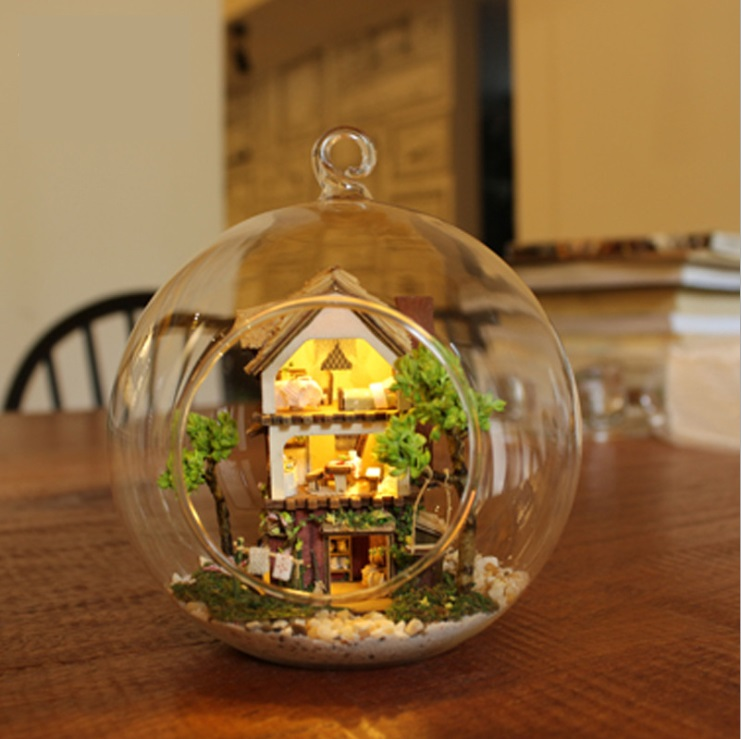 Rainforest Glass Ball DIY 3D Dollhouse