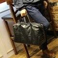 Gran Bolsa de Viaje Impermeable de Mano de Las Mujeres de Nueva Moda Para Hombre Cuero de LA PU de Viaje Duffle Bags Bolsa de fin de Semana de Los Hombres de Cuero palestra