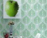 Modern Non Woven Wallpaper Simple Living Room Warm Bedroom Geometric Sofa Television Background Wallpaper Papel De