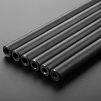 O/D 22mm Seamless Steel Pipe Explosion proof Hydraulic Boiler Steel Tube Seamless for Home DIY Pipeprint black