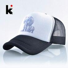 Acoplamiento del verano gorra de béisbol mujeres Hip Hop sombrero del Snapback  hombres elefante de impresión 2a92b05b2e0