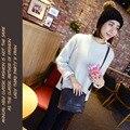 Kai yunon 2016 Novas Mulheres Esfregar Bolsa de Ombro PU Couro Bolsa Satchel Messenger Bag 23 De Agosto
