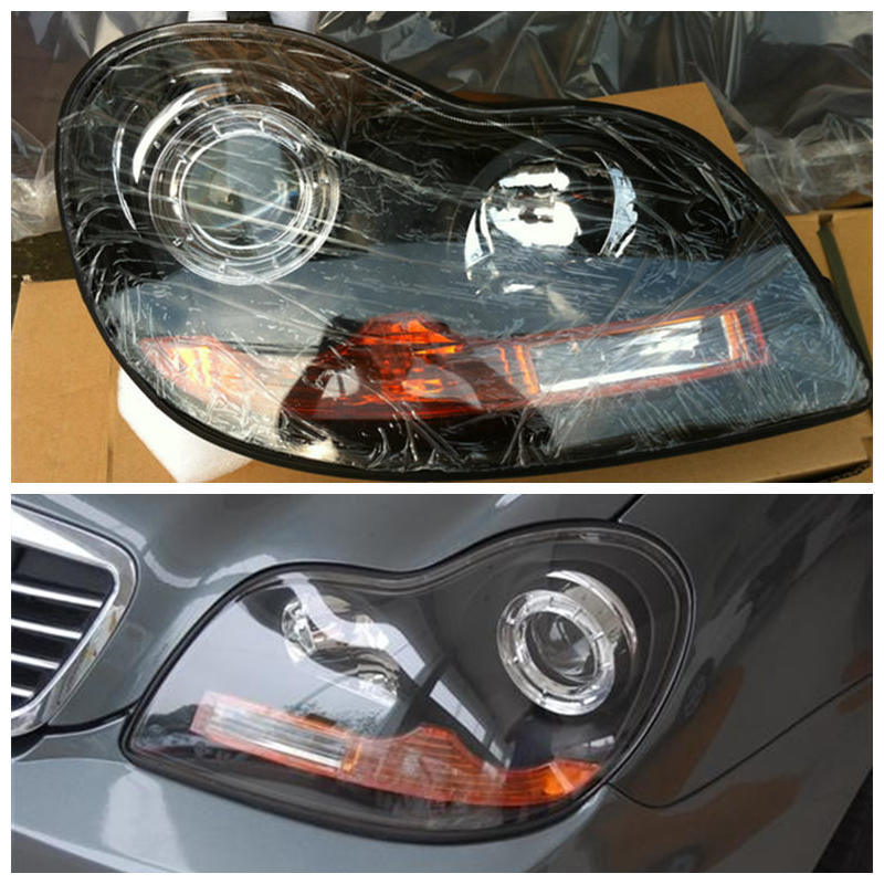 Geely CK,CK3,Car front headlight assembly geely sc7 sl car front headlight head light transparent cover