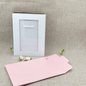 Image 3 - New Hot Sale Free SHipping HighQuality Necklace Card Earring Card &Invitation Bag 14x10.5cm 1lot=20inner card +20 out bags