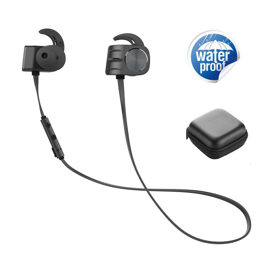 IPX5 Waterproof Sports Bluetooth Headphone 160mAh Battery Magnetic Earbuds with Loud Clear Stereo Base Music Wireless Headsets