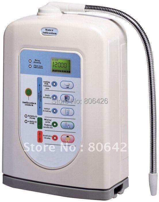 Freeshipping5 Plate Japan Tech Alkaline Ionizer hydrogen water kangen ionizer reduced alkali water machine built in