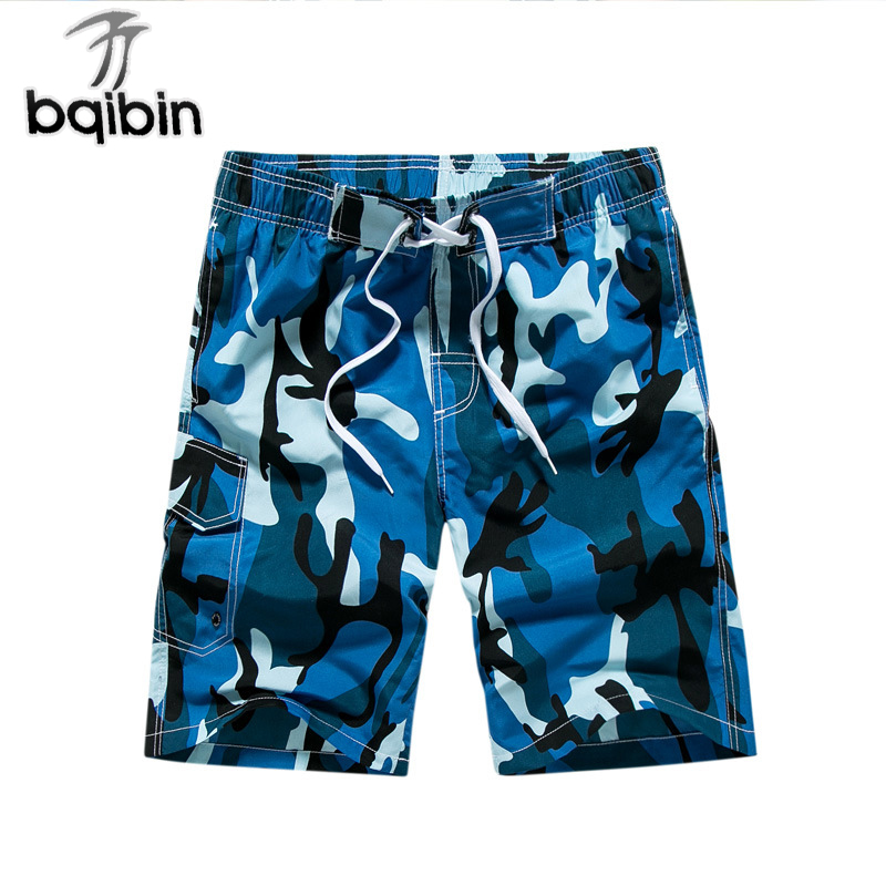 2018 Summer Men Shorts Casual Beach Short Homme Bermuda Loose Quick Dry Mens Board Shorts Camouflage Short